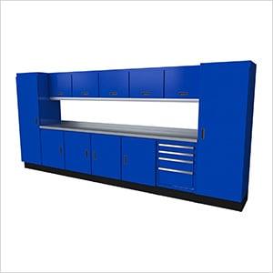 Select Series 13-Piece Aluminum Garage Cabinet Set (Blue)