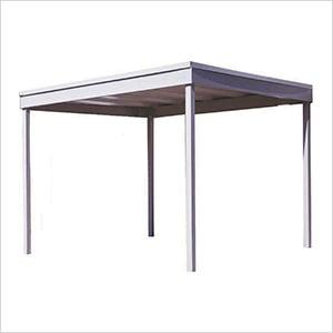 Freestanding Patio Cover/Carport, 10' x 10'