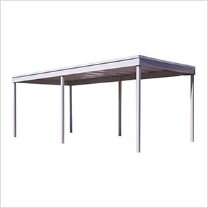 Freestanding Patio Cover/Carport, 10' x 20'