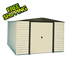 Arrow Sheds Dallas 10 x 12 ft. Steel Storage Shed with Vinyl Siding