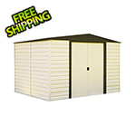 Arrow Sheds Dallas 10 x 8 ft. Steel Storage Shed with Vinyl Siding