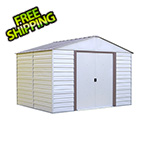 Arrow Sheds Milford 10 x 12 ft. Steel Storage Shed with Vinyl Siding
