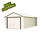 Arrow Sheds Murryhill 12 x 24 ft. Steel Storage Shed with Vinyl Siding