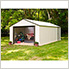 Murryhill 12 x 31 ft. Steel Storage Shed with Vinyl Siding