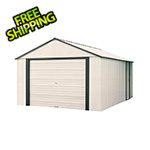 Arrow Sheds Murryhill 14 x 31 ft. Steel Storage Shed with Vinyl Siding