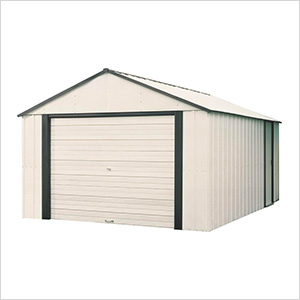 Murryhill 14 x 31 ft. Steel Storage Shed with Vinyl Siding