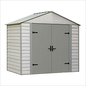 Viking 8 x 5 ft. Steel Storage Shed with Vinyl Siding