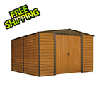 Arrow Sheds Woodridge 10 x 12 ft. Steel Storage Shed with Vinyl Siding