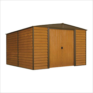 Woodridge 10 x 12 ft. Steel Storage Shed with Vinyl Siding