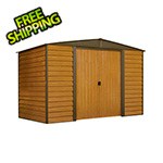Arrow Sheds Woodridge 10 x 6 ft. Steel Storage Shed with Vinyl Siding