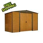 Arrow Sheds Woodridge 10 x 6 ft. Steel Storage Shed with Vinyl Siding
