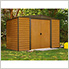Woodridge 10 x 6 ft. Steel Storage Shed with Vinyl Siding