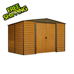 Arrow Sheds Woodridge 10 x 8 ft. Steel Storage Shed with Vinyl Siding