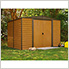 Woodridge 10 x 8 ft. Steel Storage Shed with Vinyl Siding