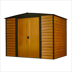 Woodridge 8 x 6 ft. Steel Storage Shed with Vinyl Siding