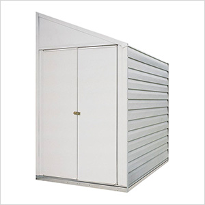 Yardsaver 4 x 10 ft. Steel Storage Shed