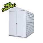Arrow Sheds Yardsaver 4 x 7 ft. Steel Storage Shed with Vinyl Siding