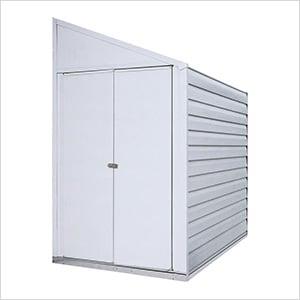 Yardsaver 4 x 7 ft. Steel Storage Shed