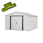 Arrow Sheds Arlington 10 x 12 ft. Steel Storage Shed with Vinyl Siding