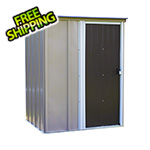 Arrow Sheds Brentwood 5 x 4 ft. Steel Storage Shed