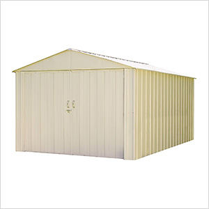 Commander 10 x 15 ft. Steel Storage Shed