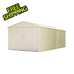 Arrow Sheds Commander 10 x 25 ft. Steel Storage Shed