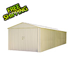Arrow Sheds Commander 10 x 30 ft. Steel Storage Shed