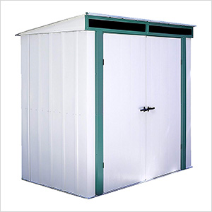 Euro-Lite 6 x 4 ft. Pent Window Shed