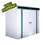 Arrow Sheds Euro-Lite 8 x 4 ft. Pent Window Shed