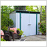 Euro-Lite 8 x 4 ft. Pent Window Shed