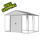 Arrow Sheds Ironwood 8 x 8 ft. Cream Shed Frame Kit