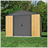 Ironwood 10 x 8 ft. Anthracite Shed Frame Kit