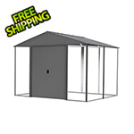 Arrow Sheds Ironwood 10 x 12 ft. Anthracite Shed Frame Kit