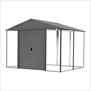 Ironwood 10 x 12 ft. Anthracite Shed Frame Kit