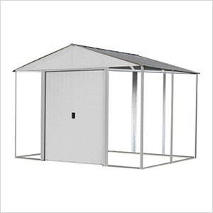 Ironwood 10 x 12 ft. Cream Shed Frame Kit
