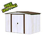 Arrow Sheds Newburgh 8 x 6 ft. Steel Storage Shed