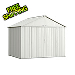 Arrow Sheds Ezee Shed 10 x 8 ft. Cream Steel Storage Shed