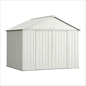 Ezee Shed 10 x 8 ft. Cream Steel Storage Shed