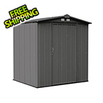 Arrow Sheds Ezee Shed 6 x 5 ft. Charoal Steel Storage Shed