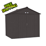 Arrow Sheds Ezee Shed 8 x 7 ft. Charoal Steel Storage Shed