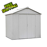 Arrow Sheds Ezee Shed 8 x 7 ft. Cream Steel Storage Shed