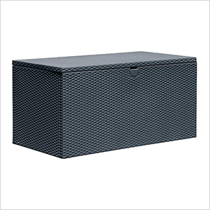 Spacemaker 134.5 Gallons Anthracite Deck Box