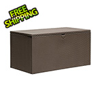Arrow Sheds Spacemaker 134.5 Gallons Espresso Deck Box