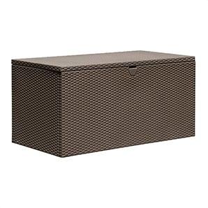 Spacemaker 134.5 Gallons Espresso Deck Box