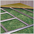 Floor Frame Kit for Euro-Lite Pent Window 6 x 4 ft., 8 x 4 ft., 10 x 4 ft. Shed