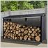 Firewood Rack 8 x 2 ft. Anthracite