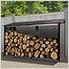 Firewood Rack 8 x 2 ft. Mocha