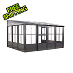 Sojag Charleston 10 x 13 ft. Wall Solarium