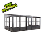 Sojag Charleston 10 x 16 ft. Wall Solarium