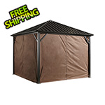 Sojag Dakota 10 x 10 ft. Gazebo Curtains